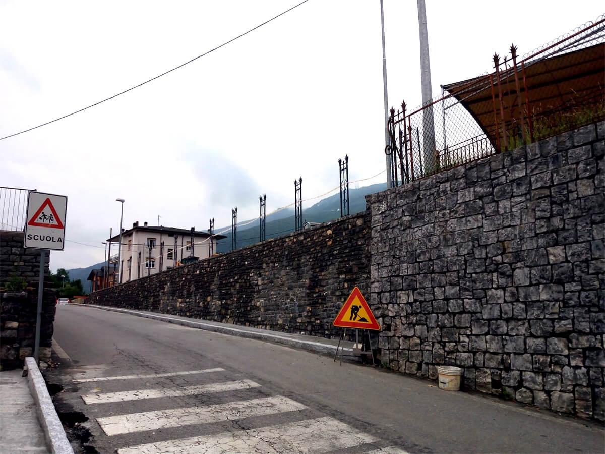 Ristrutturazione muri in pietra - Mazzoleni (Bergamo) - 08