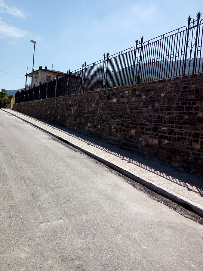 Ristrutturazione muri in pietra - Mazzoleni (Bergamo) - 09