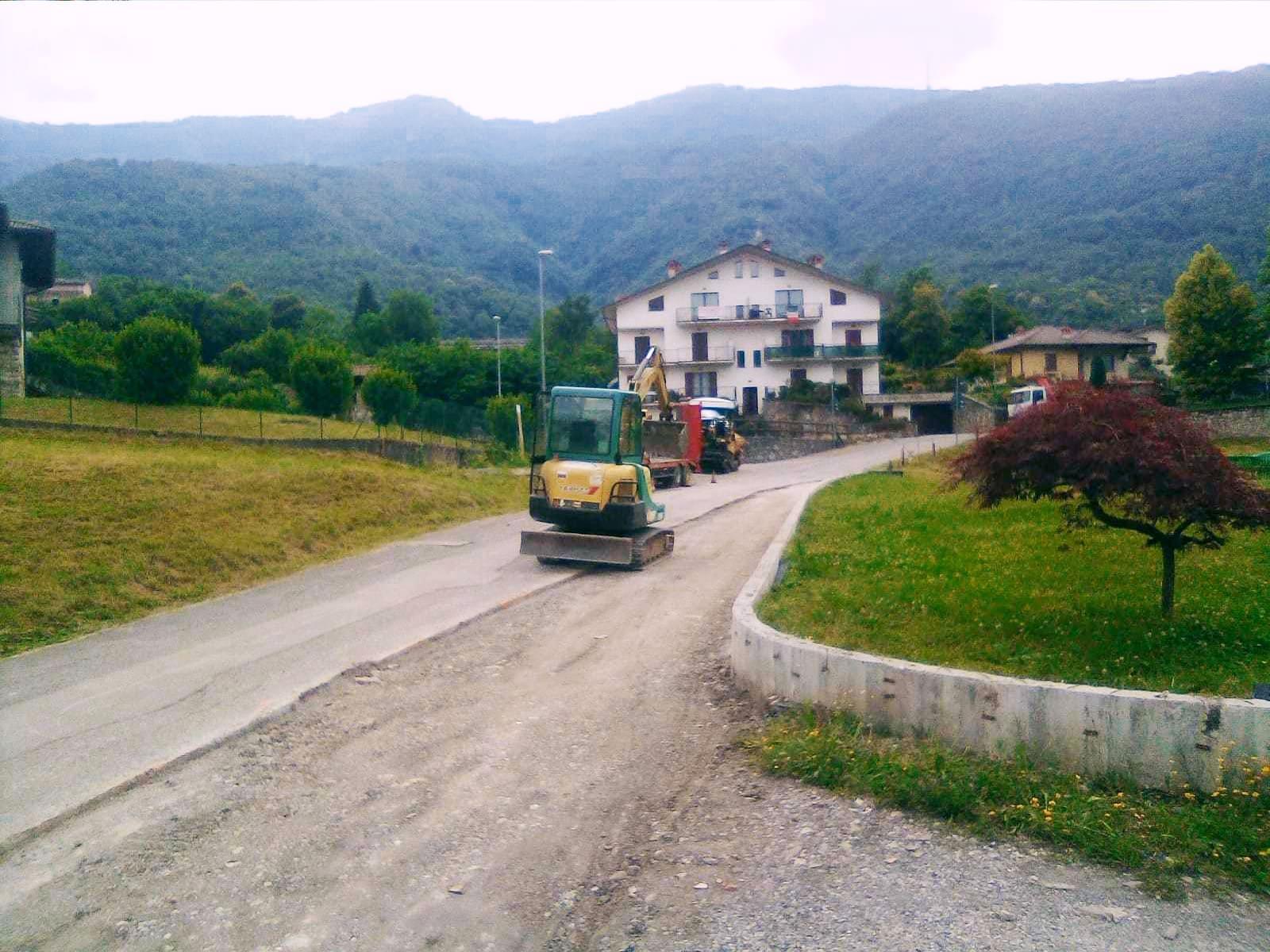 Messa in sicurezza strade comunali - Bedulita - 2