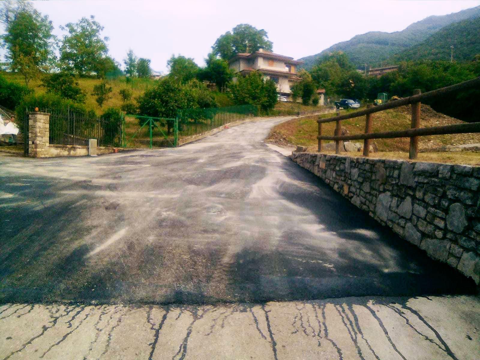 Messa in sicurezza strade comunali - Bedulita - 6