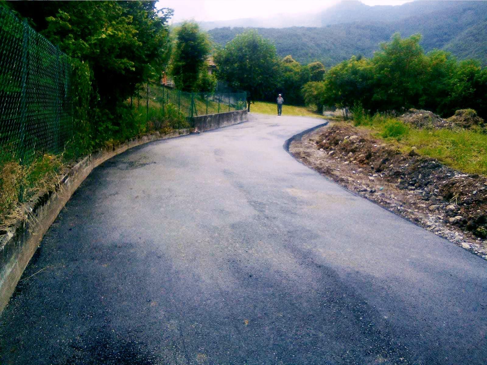 Messa in sicurezza strade comunali - Bedulita - 8