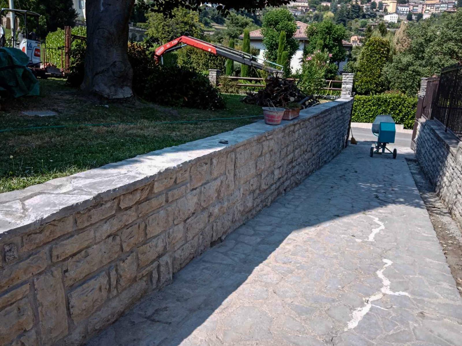 Manutenzione ordinaria Villa Bergamo - 5