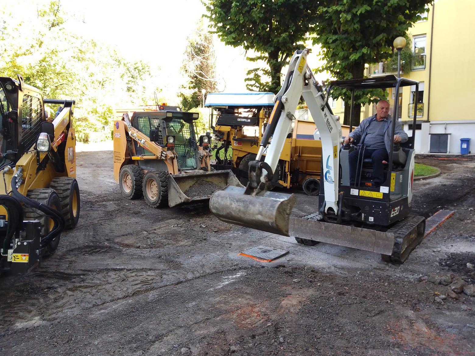 Asfaltatura parcheggio condominiale Bergamo - 3